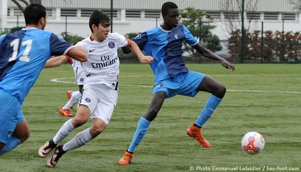 Les U17 s'inclinent face au Havre 2-1