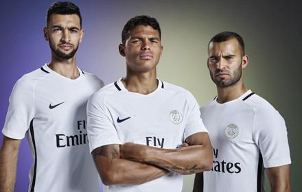 Le PSG officialise son maillot third, blanc avec quelques traits noirs