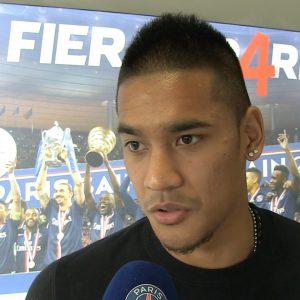 Alphonse Areola interview PSG