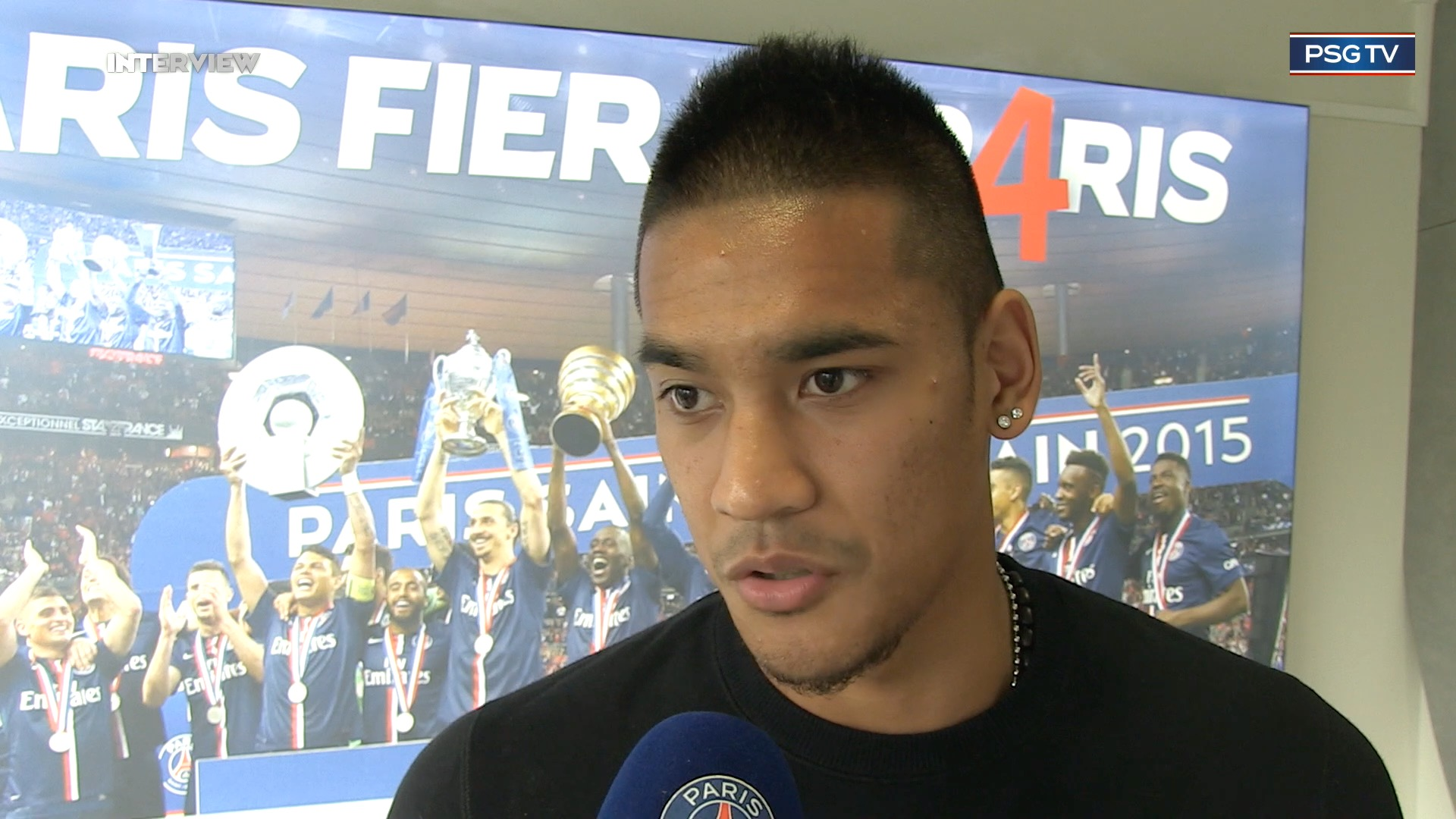 Alphonse Areola interview PSG