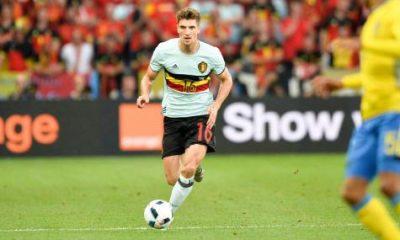 Thomas Meunier sélectionné pour les deux matchs de la Belgique durant la trêve internationale