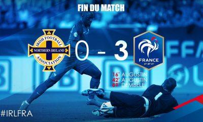 Malgré une belle victoire et un doublé d'Augustin, l'Equipe de France Espoirs n'est pas qualifiée pour l'Euro