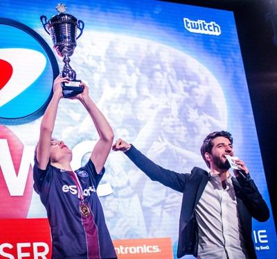 Le PSG remporte un premier titre en eSport lors de la Paris Games Week