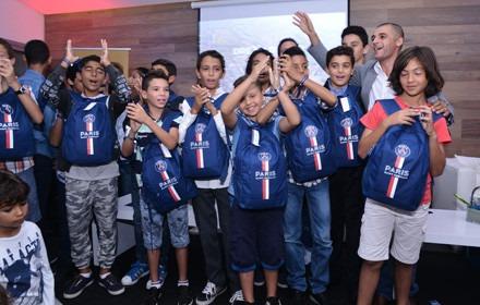 La PSG Academy à Marrakech et à Casablanca