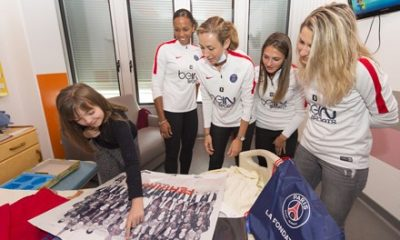"""Les Parisiennes ont passé du temos à Necker """"beaucoup d'émotion"""""""