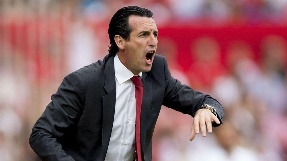 """OL/PSG - Emery """"j'ai confiance en mon équipe. Je veux qu'elle joue avec la mentalité de mercredi à Londres"""""""