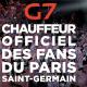 11 taxis de la plate-forme G7 vont rouler aux couleurs du PSG jusqu'au 31 décembre