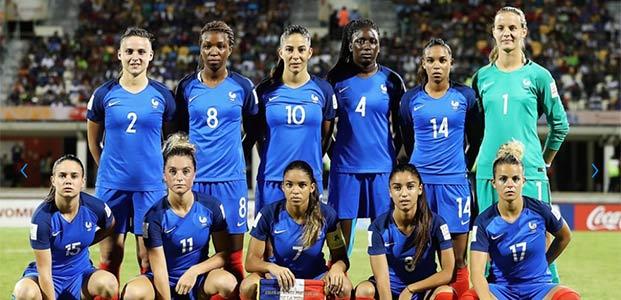 F minines 4 joueuses du psg convoqu es en equipe de france b - Coupe europe foot feminin ...