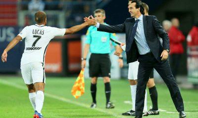 Emery «Je suis content avec Lucas. C'est un joueur très impliqué»