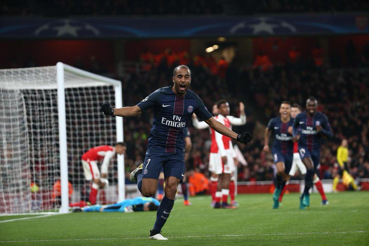 Arsenal/PSG (2-2): Les notes des Parisiens : Lucas au top, l'erreur de Krychowiak