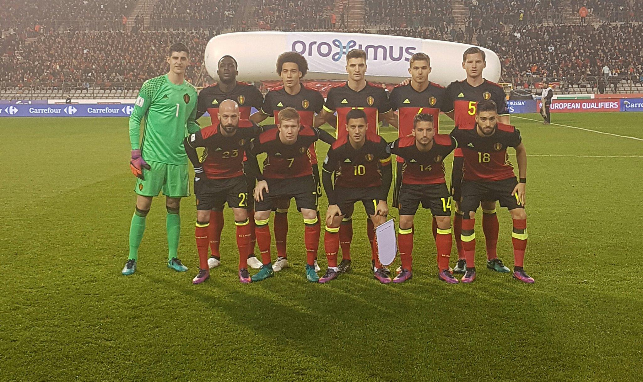 Meunier va mieux et est titulaire avec la Belgique contre l'Estonie.jpg