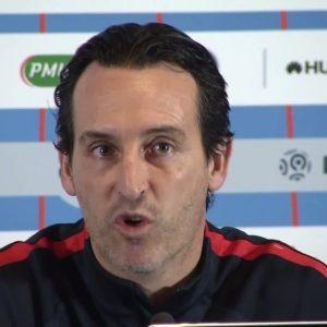 """Emery """"Je veux que les joueurs qui débutent sur le banc des remplaçants se sentent importants"""""""