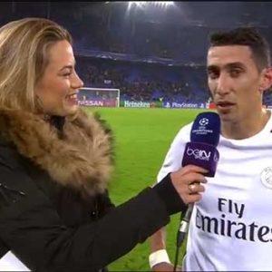 Angel du Maria réaction Bâle/PSG Ligue des Champions