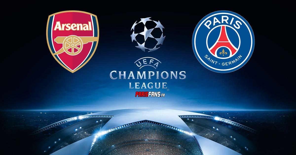 Arsenal/PSG - Champions League