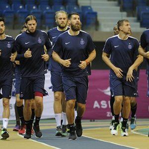 Handball- Les internationaux du Paris Saint-Germain prêts pour l'Euro