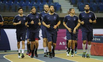 Handball- La préparation des internationaux du Paris Saint-Germain pour le Mondial