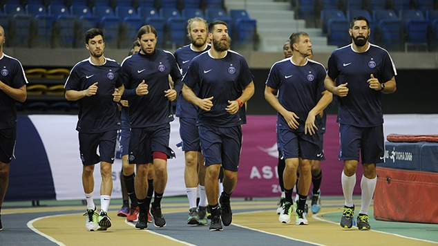 Handball- Les internationaux du Paris Saint-Germain prêts pour l'Euro