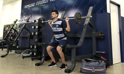 Javier Pastore se prépare avec son club formateur