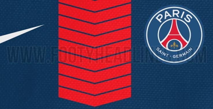 Le maillot domicile du PSG pour la saison 2017-2018 dévoilé par Footy Headlines