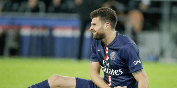 Thiago Motta sorti par précaution pour une douleur au dos