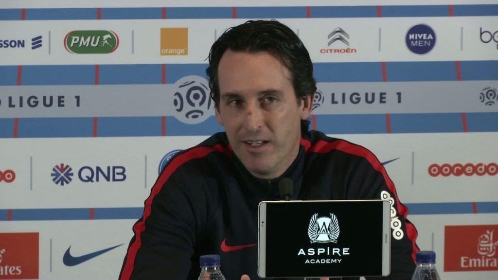 """PSG/TFC - Emery """"Il faut jouer avec beaucoup d'exigence. Je crois que les joueurs ont la bonne mentalité"""""""