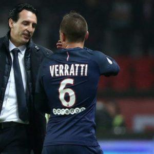 """Verratti """"Je dois remercier l'entraineur qui me donne la confiance...je peux enchaîner sans être fatigué"""""""
