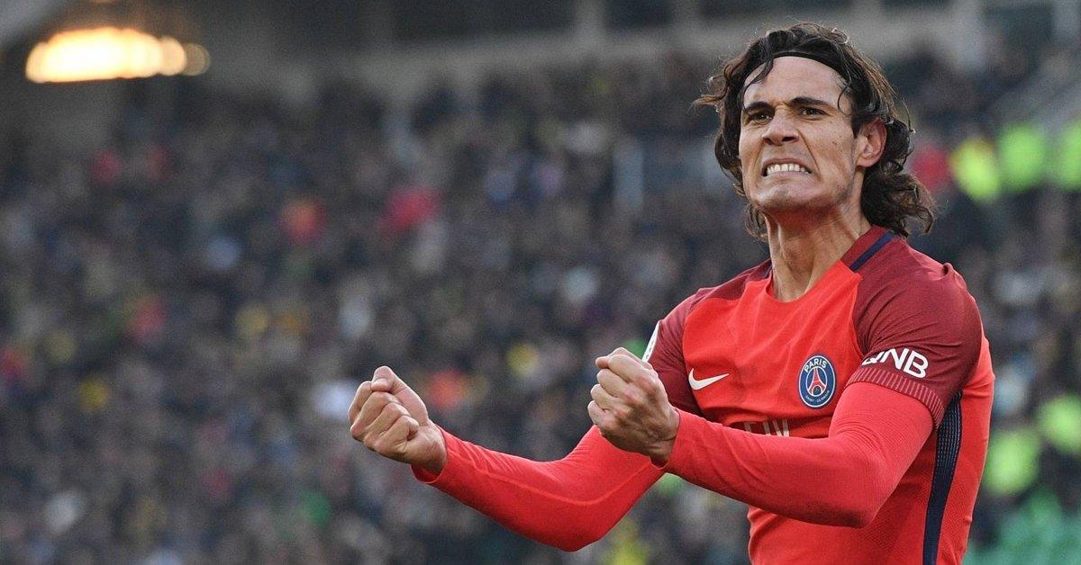Ligue 1 - Cavani parmi les 5 pré-sélectionné pour le titre de meilleur joueur du mois de janvier