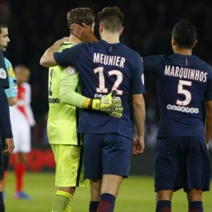 Kevin Trapp blessure PSG/Monaco