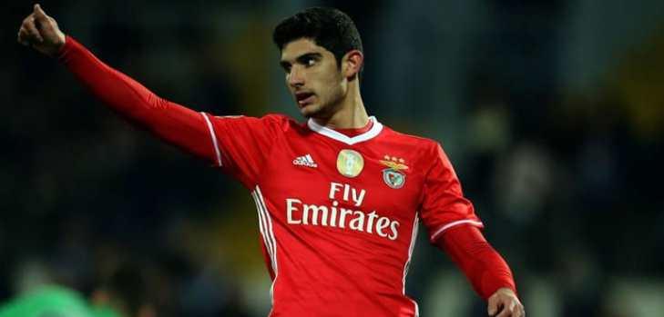 Le Benfica Lisbonne rend hommage à Guedes et lui souhaite bonne chance dans cette aventure parisienne