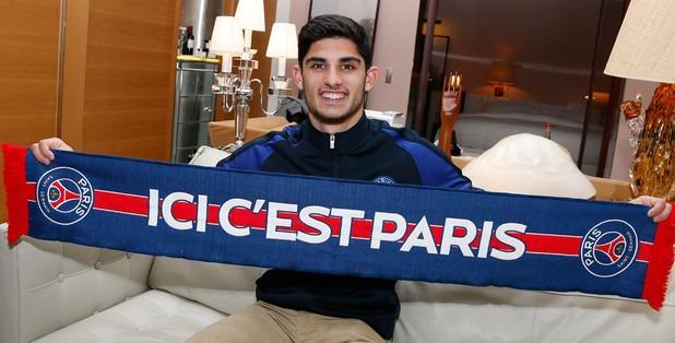 """Guedes """"Kluivert m'a dit qu'ici, à Paris, je pourrais progresser, devenir un meilleur joueur"""