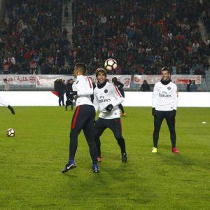 Les images partagées par les joueurs du PSG ce jeudi La joie de retrouver le terrain!