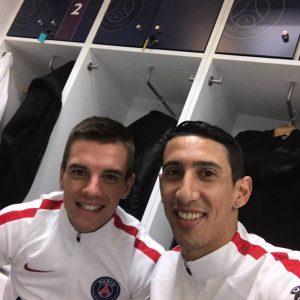 Les images partagées par les joueurs du PSG ce lundi Di Maria accueille Lo Celso