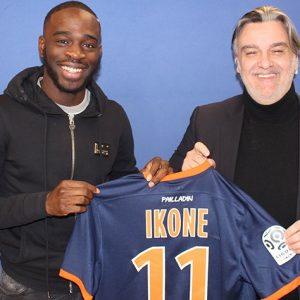 """Jonathan Ikoné """"prouver à Montpellier ce que je vaux pour espérer intégrer le PSG dans le futur"""