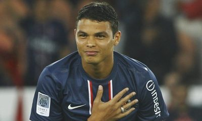 Thiago Silva élu le meilleur joueur 2016 en France par GFFN