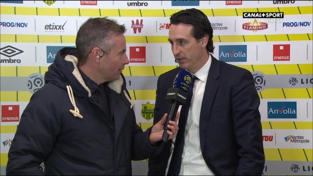 Unai Emery - FC Nantes-PSG