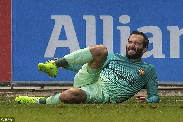 Aleix Vidal blessure
