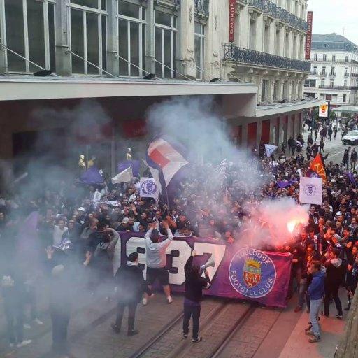 PSG/Toulouse - Un groupe de supporters toulousains boycottent le déplacement au Parc