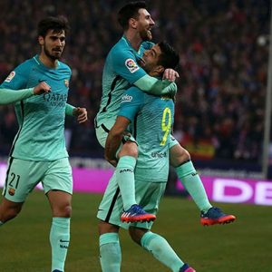 LDC - Le Barça souffre, mais gagne demi-finale aller de Coupe du Roi