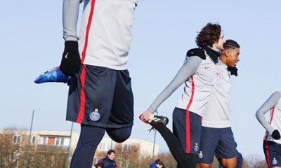 Les images partagées par les joueurs du PSG ce lundi : Prêts pour le Barça !