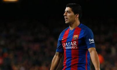 """PSG/Barça - Suarez """"Cavani est très intelligent, il réalise une énorme saison avec Paris"""""""