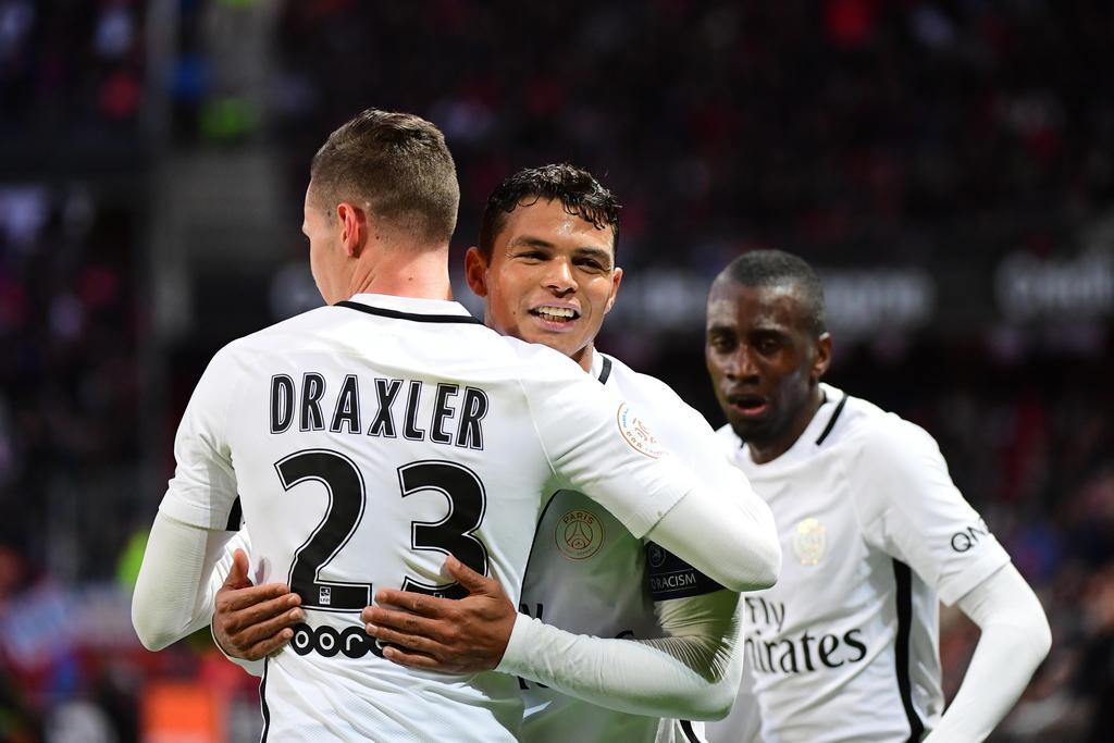 Rennes / PSG: but Julian Draxler