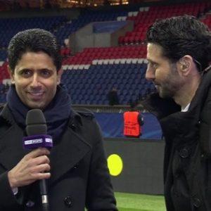 Nasser Al-Khelaïfi réaction après match PSG/Barcelone