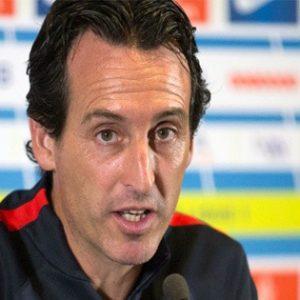 """Emery en conf : """"je veux que l'équipe continue de grandir...L'objectif c'est de faire un match complet"""""""