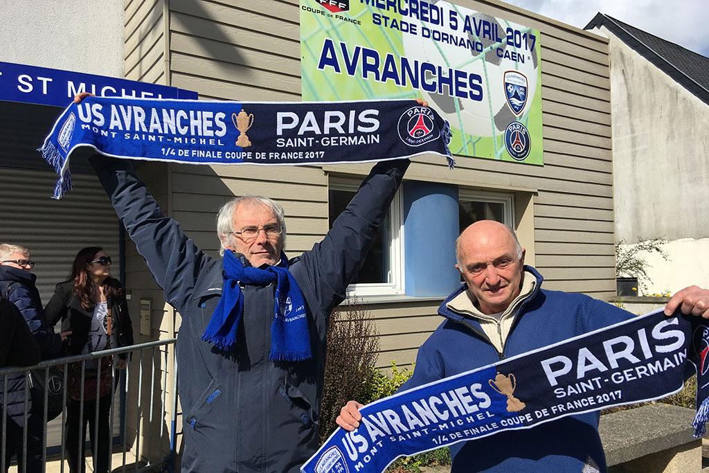 CDF - Avranches/PSG se jouera à guichets fermés