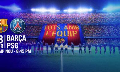 Barça/PSG - Barcelone a préparé son tifo pour le 8e de finale contre Paris