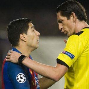 LDC - La sanction de l'arbitre de BarçaPSG est une pure invention répond l'UEFA