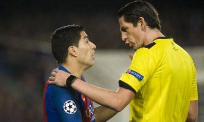 """LDC - La sanction de l'arbitre de Barça/PSG est une """"pure invention"""" répond l'UEFA"""