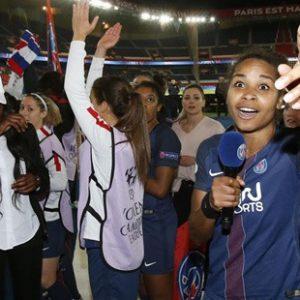 """Laura Georges PSG/Bayern Munich: """"les Ultras sont venus, merci à eux"""""""