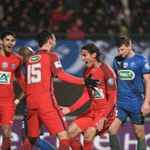 Les images partagées par les joueurs du PSG ce mercredi qualification à Niort !