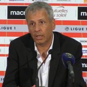 Lucien Favre conférence de presse OGC Nice